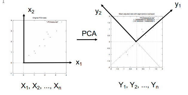 dimensionality reduction PCA